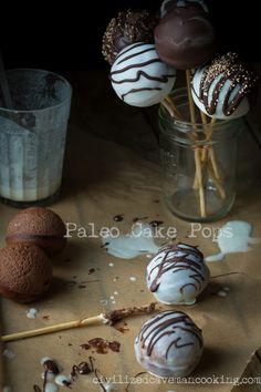 Paleo Cake Pops l Civilized Caveman