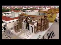 En este vídeo puedes ver una reconstrucción de la antigua Roma en 3D.