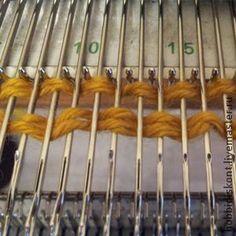 Набор «Стежка» или как выполнить 'Болгарский зачин' на машине. Этот вид набора очень прост в исполнении. Его можно применять при вязании на бытовых вязальных машинах, таких как Сильвер,Бразер,Северянка и им подобным, т.е. на всех машинах в однофонтурном режиме. Нити для прокладки 'стежки' можно использовать любые, декоративные,цветные ,меховые ,шнурковые и прочую красоту. Низ изделия, в зависимо…
