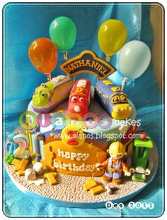 Chuggington by olanos cakes