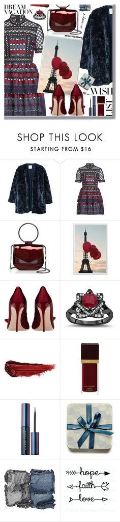 """PolyPresents"" by tinkabella222 ❤ liked on Polyvore featuring MANGO, self-portrait, Nasty Gal, Pottery Barn, By Terry, Tom Ford, Puma, NARS Cosmetics, WishList and contestentry"