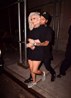 Kylie Jenner and Tyga Get Extra Cuddly During Their Night Out in NYC