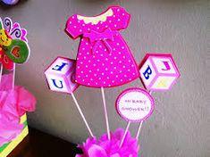 Resultado de imagen para imagenes de centros de mesa para baby shower