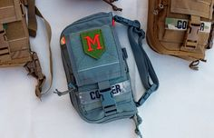 Cooper Expedition Gear Steadfast EDC bag, Coyote, multicam, Foilage, and Black. #MOTUS FIFTY