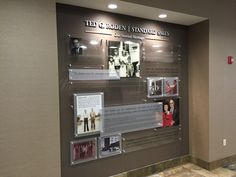 Tribute Wall, Standard Sales Company, Slant Partners, and Creative Delineation
