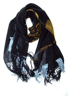 Paciencia handwoven cotton scarf | Amber Kane