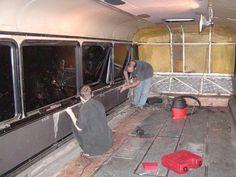 Como faz: motor-home com um ônibus velho 05