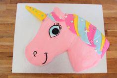 unicorn birthday cake 21