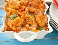 Main Dish: Shrimp Parmesan Ziti Bake