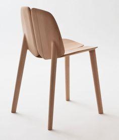 The Osso Chair by Ronan  Erwan Bouroullec for Mattiazzi.
