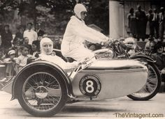 1939 - Terrot with sidecar