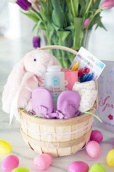 Little tikes swing easter basket for baby amelias 1st easter unique easter basket ideas for everyone on your list blog by oriental trading company negle Choice Image