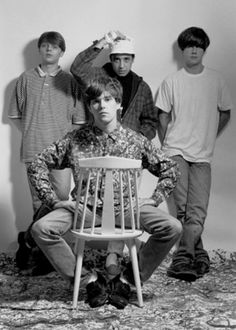 The Stone Roses - cult English rock band formed in Manchester in 1983