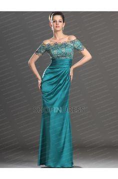 Lace Green Prom Dress