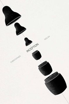 Minimalist posters: Inception by Ojasvi Mohanty