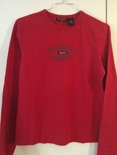 T shirt femme polo jeans Co Ralph Lauren taille L   Livraison en relay colis