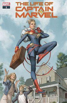The Life of Captain Marvel -- Margaret Stohl -- June