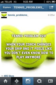 Tennis probs.. But I change my own #ImCool