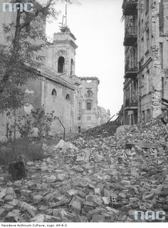 Warsaw, Poland after II World War