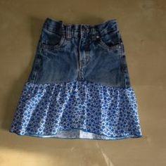 tuto transformer un jean et du tissu en jupe recycler le jean pinterest sac en jean jupes. Black Bedroom Furniture Sets. Home Design Ideas