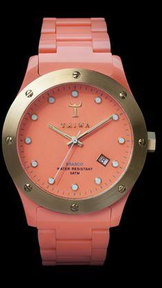 cute watch, love the color. #karmaloop