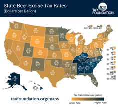 State Beer Excise Taxes #beer #brewery #tax