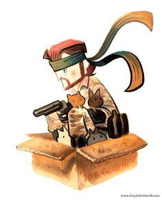 Solid Snake by ~Pocketowl on deviantART