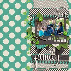 Love Family - Scrapbook.com