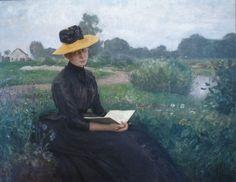 pintura de Léopold Graf von Kalckreuth (1855-1928)