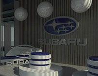 Subaru Conceptual Showroom Design