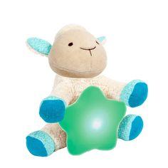 Veilleuse mouton câlin coton bio* - 2 en 1 : veilleuse et peluche pour rassurer bébé - 24,95 €