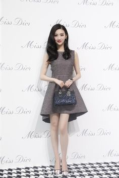 Jing Tian (景甜) in Dior
