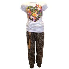 O'Chill broek 'Claire' + shirt 'Veronique', leuke combi!