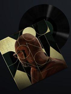 The Fake Blondes by Antonio Rodrigues Jr, via Behance Album cover design