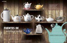 Revista Platos&Copas // cook&desing: Fuentes con estilo y color