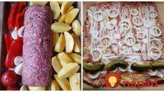 Zabudnite na vysušenú sekanú a mastné fašírky: Do tejto rolky nejde strúhanka, vajce a ani zrnko soli – chuť miliónová! Sausage, Food And Drink, Meat, Vegetables, Vegetable Recipes, Veggie Food, Sausages, Veggies