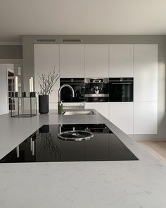 39 Amazing Luxury Kitchens Design IDeas WIth Modern Amazing Luxury Kitchens Design I. - 39 Amazing Luxury Kitchens Design IDeas WIth Modern Style, Kitchen Room Design, Luxury Kitchen Design, Luxury Kitchens, Home Decor Kitchen, Kitchen Living, Modern House Design, Interior Design Kitchen, Kitchen Furniture, New Kitchen