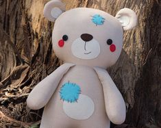 Pookie Panda Bear Pattern by braidcraft on Etsy