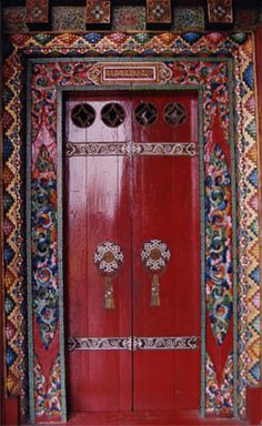 Tibetan door Johna Beall Real Estate in Seattle