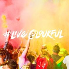 Cast your mind back to the AMAZING paint fights in the Bulmers Colourena this summer #LiveColourful