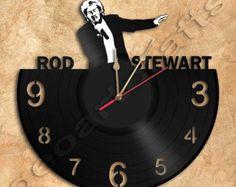 Musik record clocks pinterest schallplattenuhr for Kuchenuhren wanduhren