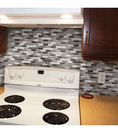 Update your kitchen, bathroom, or anywhere in your home with this non permanent, easy to install solution   DIY Home Improvement    Online Only Product