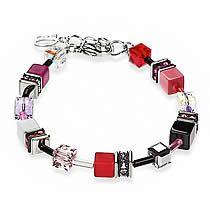 Signature Cube Bracelet, Red, Pink, Black, White, Coeur De Lion Jewelry $115
