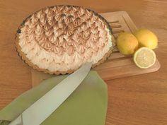 Het Keukenprinsesje: Frisse citroen meringue taart