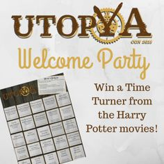 I'm so excited for UtopYA Con 2015! I hope you'll be there, because this year we're having a fun welcome party for con-goers that are new and veterans that have been there. We want to make sure everyone feels welcome at this life-changing event.