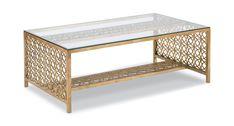 Gilt Cocktail Table | Gabberts Design Studio and Fine Furniture | Edina MN, Little Canada MN, Sioux City IA, Fargo ND, Sioux Falls SD