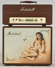 Image of Marshall C5 Custom Shop Pin-Up 'Jane', New, Head & Cab