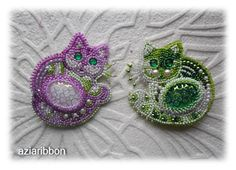 Круглые коты   biser.info - всё о бисере и бисерном творчестве