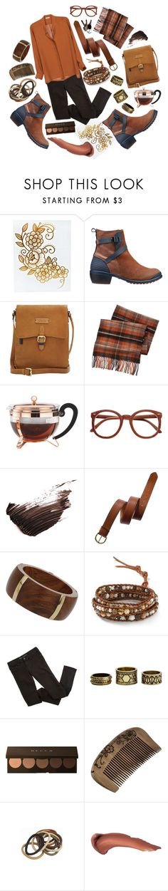 """Is it cinnamon season yet?"" by thatiswhy ❤ liked on Polyvore featuring Keen Footwear, Joules, Dockers, Bodum, By Terry, Madewell, Topshop, Chan Luu, Charlotte Russe and Becca"