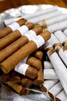 Souvenirs pour les hommes #mariage #wedding #cigares